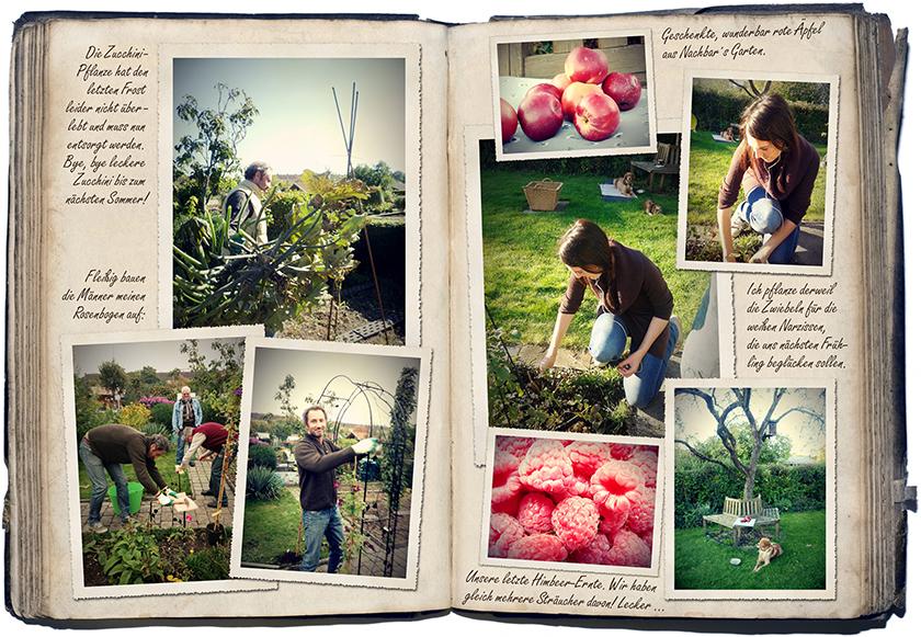Oktober-Gartentagebuch 1