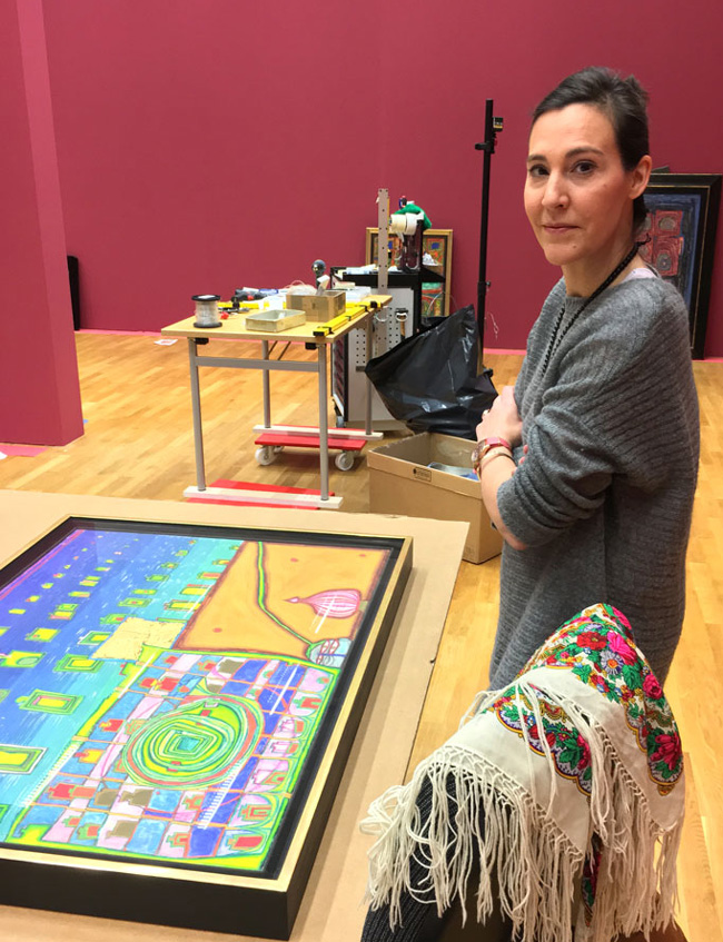 claudine-liebt-kunst-museum-at-work